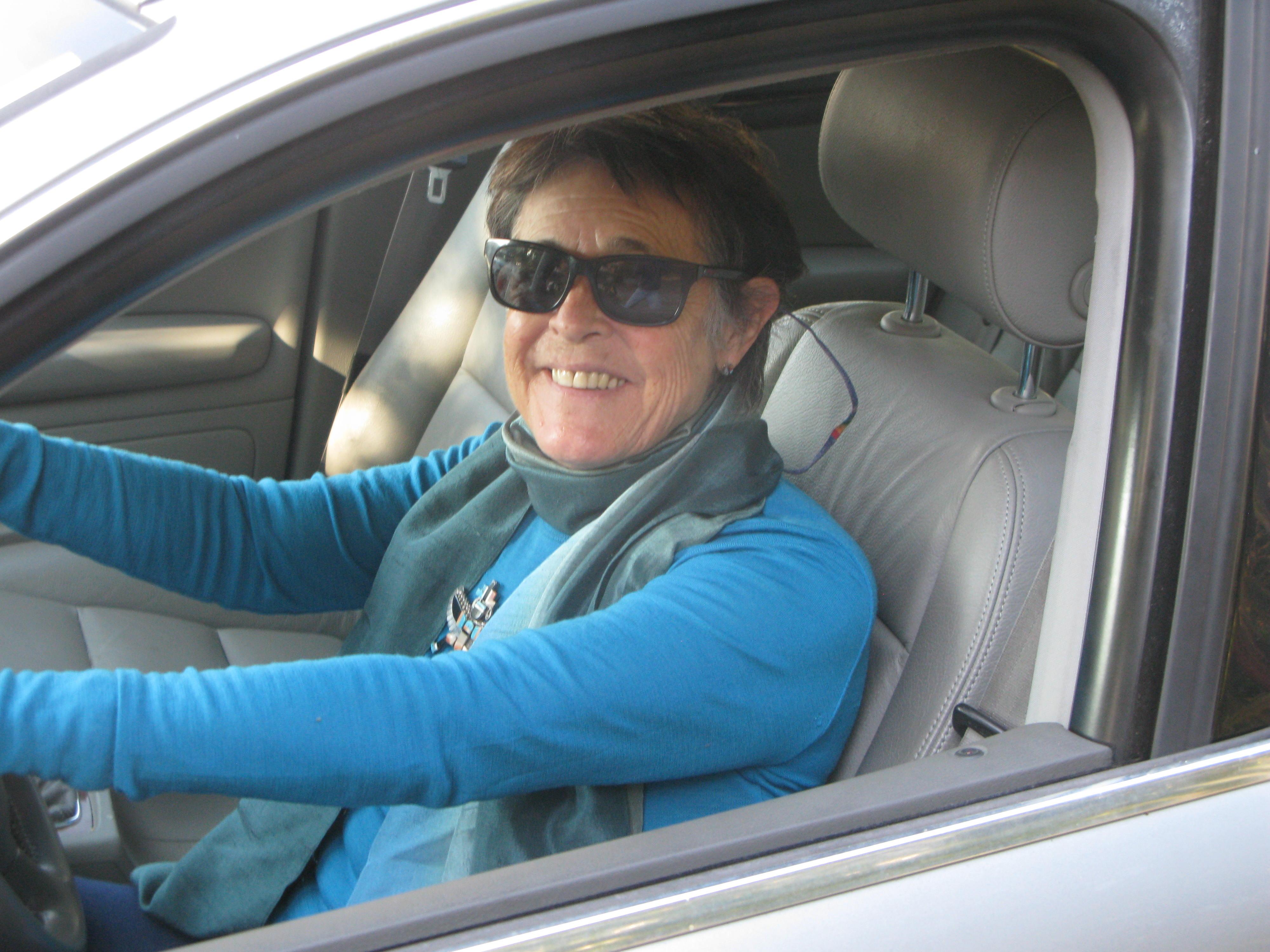 Gary driving
